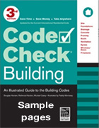 Code Check Building 3rd Ed. Sample Pages